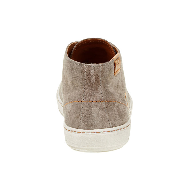 Męskie skórzane buty weinbrenner, brązowy, 843-2661 - 17