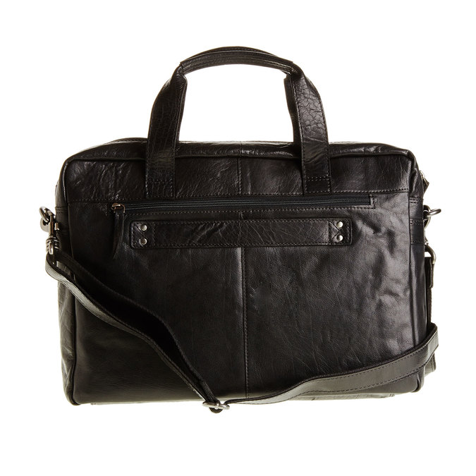 Skórzana torba bata, czarny, 964-6153 - 26