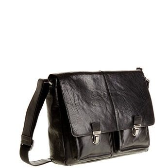 Skórzana torba bata, czarny, 964-6178 - 13