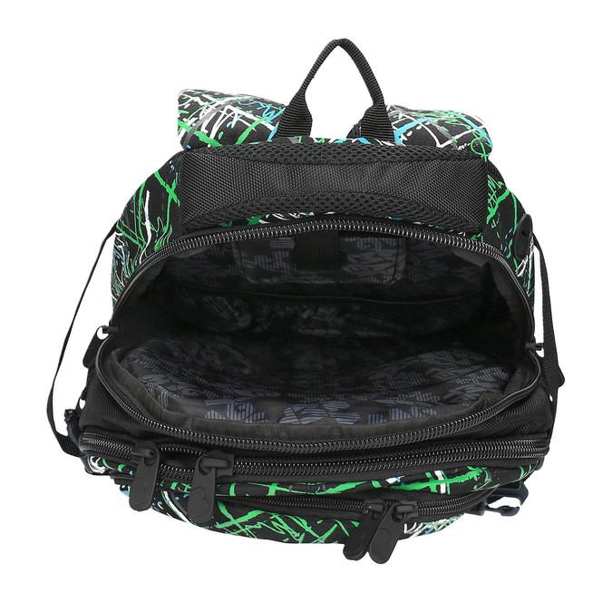 Plecak szkolny z nadrukiem bagmaster, zielony, 969-7613 - 15