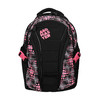 Dziewczęcy szkolny plecak z nadrukiem bagmaster, czarny, 969-5615 - 19