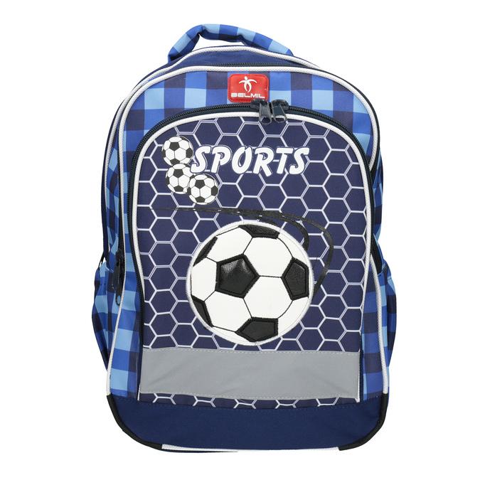 Dziecięcy plecak szkolny belmil, niebieski, 969-9629 - 15