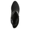 Botki damskie zklamrami bata, czarny, 699-6630 - 26