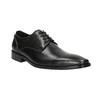 Męskie skórzane półbuty bata, szary, 826-2646 - 13