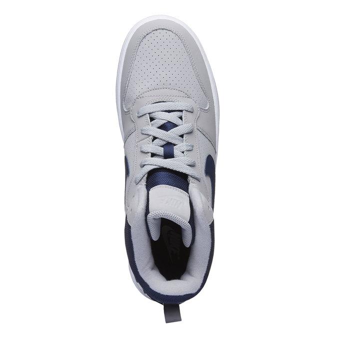 Męskie buty sportowe do kostki nike, szary, 801-2332 - 19