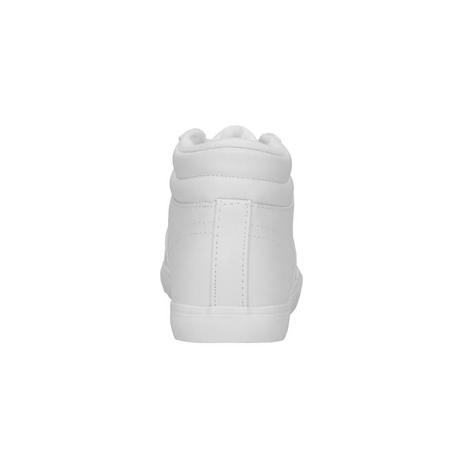 Białe trampki za kostkę power, biały, 501-1400 - 17