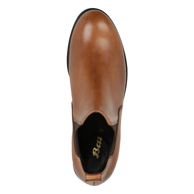 Chelsea boots damskie ze skóry bata, brązowy, 594-3902 - 19