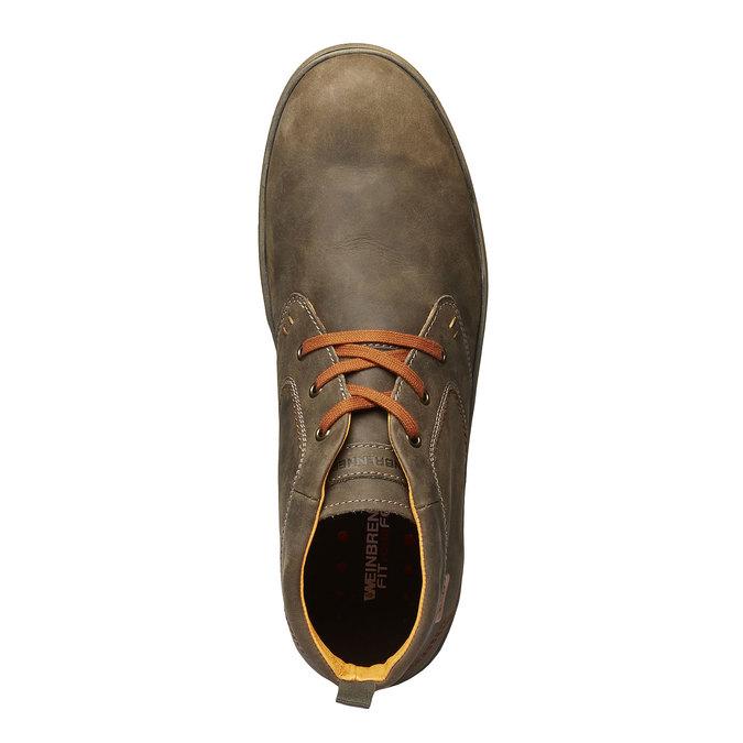 Skórzane buty sportowe weinbrenner, brązowy, 894-2209 - 19