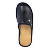 Kapcie męskie zpełnymi noskami bata, niebieski, 871-9304 - 19