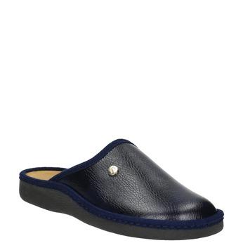 Kapcie męskie zpełnymi noskami bata, niebieski, 871-9304 - 13