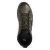Skórzane buty męskie za kostkę bata, szary, 846-2602 - 19