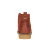 Botki damskie zkolorową wyściółką bata, pomarańczowy, 599-5605 - 17
