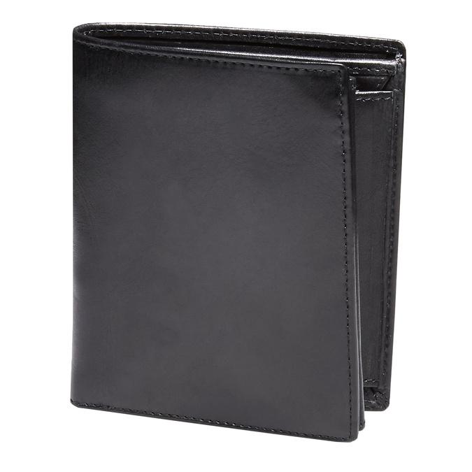 Skórzany męski portfel bata, czarny, 944-6121 - 13