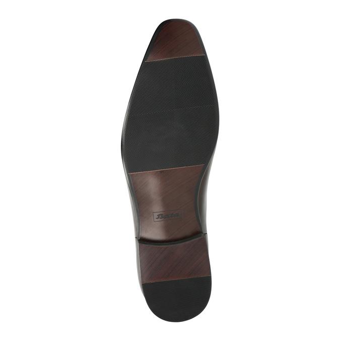 Skórzane buty męskie za kostkę bata, brązowy, 896-4655 - 26