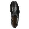 Skórzane ocieplane buty za kostkę bata, czarny, 894-6641 - 26