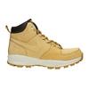 Skórzane buty męskie za kostkę nike, brązowy, 806-8435 - 15
