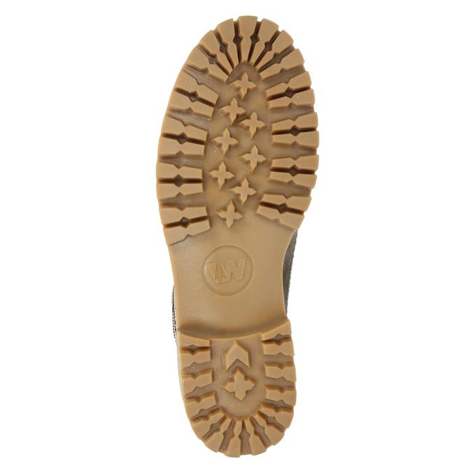Skórzane buty zimowe zfuterkiem weinbrenner, brązowy, 594-2491 - 17