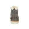Skórzane buty sportowe do kostki z futerkiem weinbrenner, szary, 596-2627 - 17