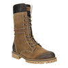 Zimowe buty damskie zfuterkiem weinbrenner, brązowy, 593-8476 - 13