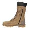Zimowe buty damskie zfuterkiem weinbrenner, brązowy, 593-8476 - 19