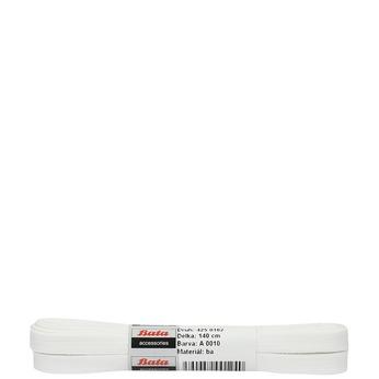 Białe sznurowadła bata, biały, 901-1140 - 13