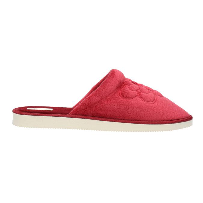Kapcie damskie bata, czerwony, 579-5611 - 15