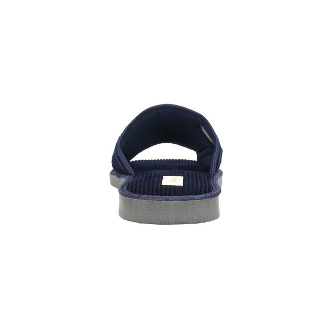 Kapcie męskie bata, niebieski, 879-9608 - 17