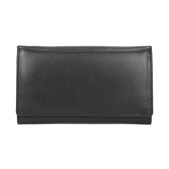 Skórzany portfel damski bata, czarny, 944-6357 - 26