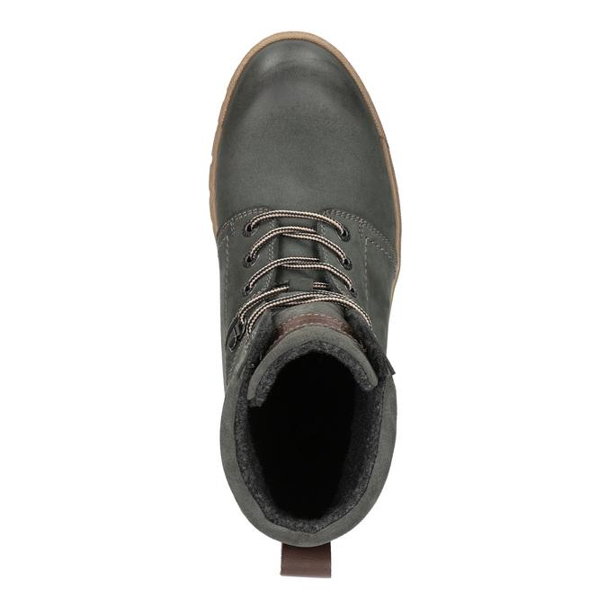Męskie buty zimowe weinbrenner, szary, 896-2109 - 19