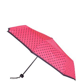 Składana parasolka w kropki bata, różowy, 909-5601 - 13