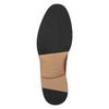 Skórzane półbuty męskie na grubszej podeszwie bata, brązowy, 826-3809 - 19
