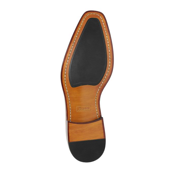 Brązowe skórzane półbuty typu oksfordy bata, brązowy, 826-3810 - 26