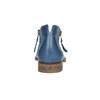 Skórzane botki zperforacją bata, niebieski, 596-9647 - 17