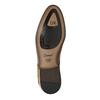 Brązowe półbuty zeskóry conhpol, brązowy, 824-3855 - 26