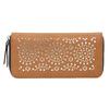 Brązowy portfel zperforacją bata, brązowy, 941-3154 - 26