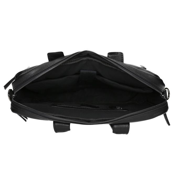 Czarna teczka bata, czarny, 961-6521 - 15