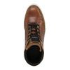 Skórzane trampki za kostkę bata, brązowy, 844-3631 - 19