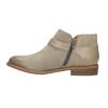 Skórzane botki zklamrami bata, brązowy, 596-3634 - 26