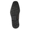 Skórzane półbuty męskie zprzeszyciem na nosku bata, brązowy, 824-4815 - 26