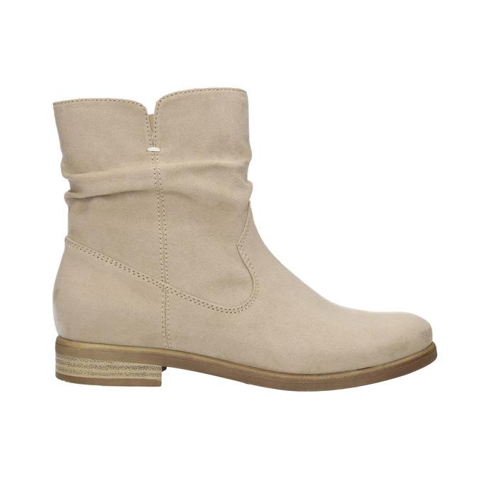 Botki damskie bata, beżowy, 599-8614 - 15