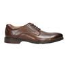 Brązowe półbuty męskie zeskóry bata, brązowy, 826-4800 - 15