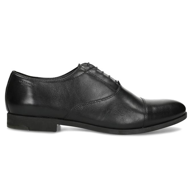 Czarne skórzane półbuty typu oksfordy vagabond, czarny, 824-6048 - 19