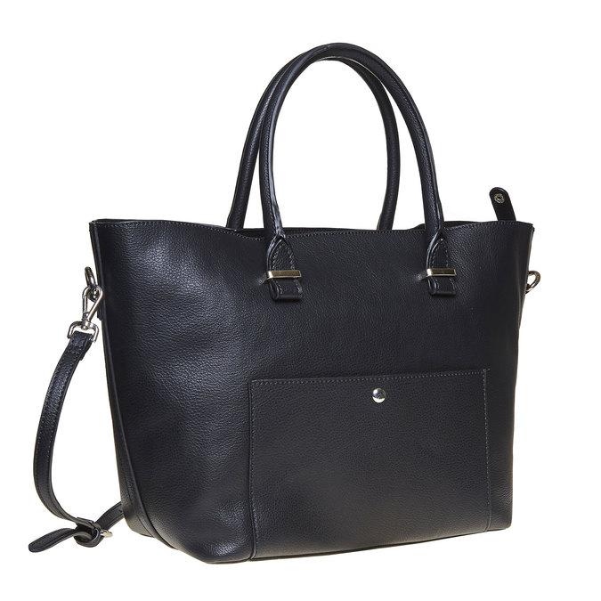 Elegancka torba damska bata, czarny, 961-6278 - 13