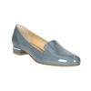 Skórzane damskie buty w stylu Loafers bata, niebieski, 518-9600 - 13
