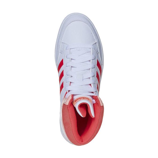 Trampki dziewczęce za kostkę adidas, biały, 401-5253 - 19