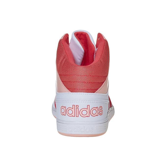 Trampki dziewczęce za kostkę adidas, biały, 401-5253 - 17