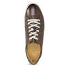 Męskie skórzane buty sportowe bata, brązowy, 846-4617 - 17