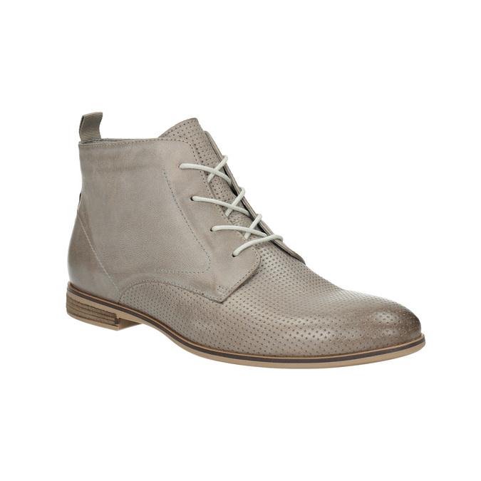 Skórzane botki bata, brązowy, 596-2645 - 13