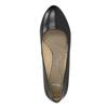 Czółenka z zaokrąglonym noskiem pillow-padding, czarny, 624-6637 - 19
