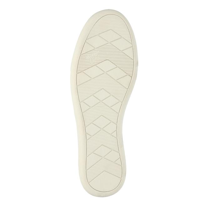 Skórzane buty z perforacją bata, różowy, 516-5601 - 26